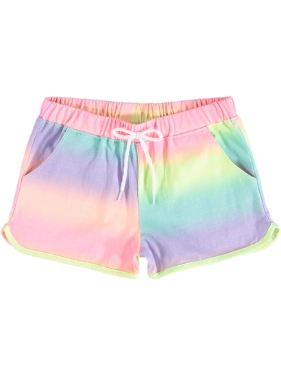 Girls Yardage Short Ombre