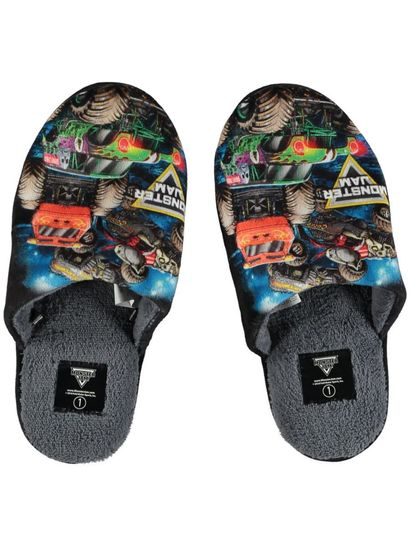 Boy Monster Jam Slipper