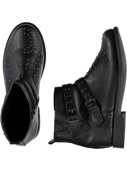 Girl Stud Biker Boot