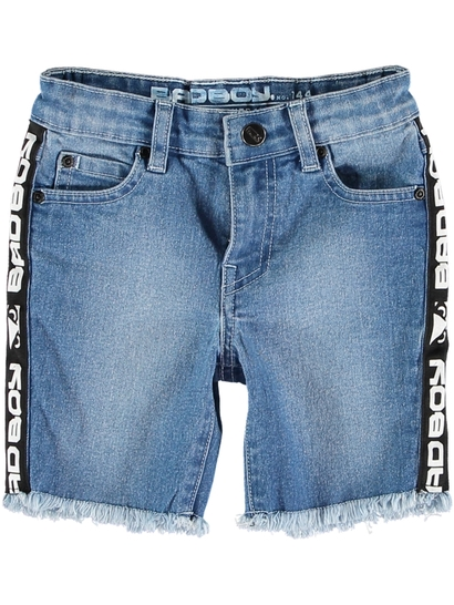Toddler Boy Bad Boy Denim Short