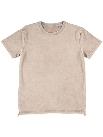 Boys Longline Burnout Tee