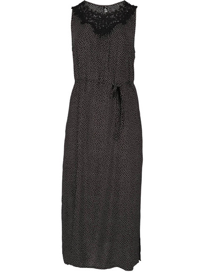 Womens Plus Crochet Maxi Dress