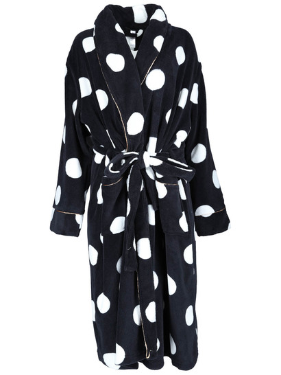 Luxe Feel Spot Dressing Gown