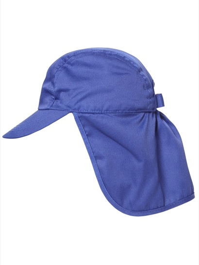 ROYAL BLUE KIDS LEGIONNAIRE CAP