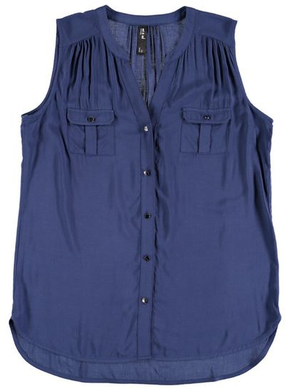 Sleeveless Shirt Womens