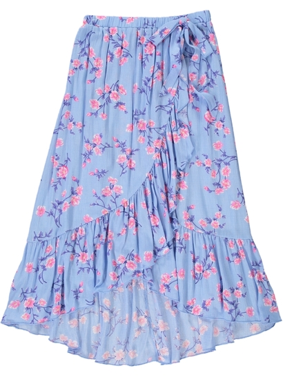 Girls Wrap Maxi Skirt