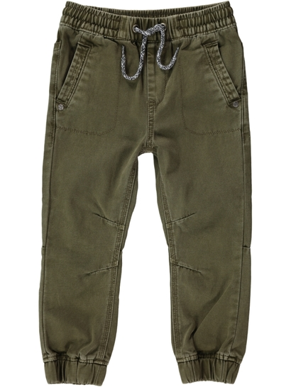Toddler Boys Cuff Drill Pant