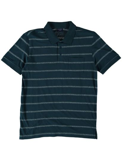 Mens Stripe Polo Top