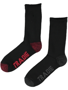 Tradie Mens 2 Pk Cotton Work Sock