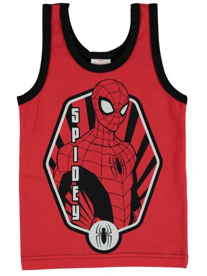 Boys Spiderman Singlet