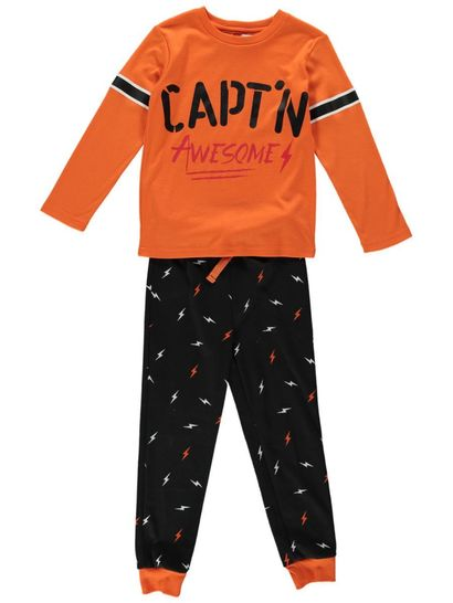 Boys Knit Pyjama Set