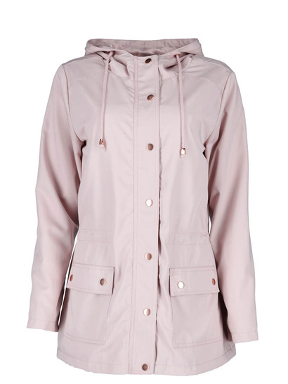 Plus Lightweight Hooded Jacket Womens