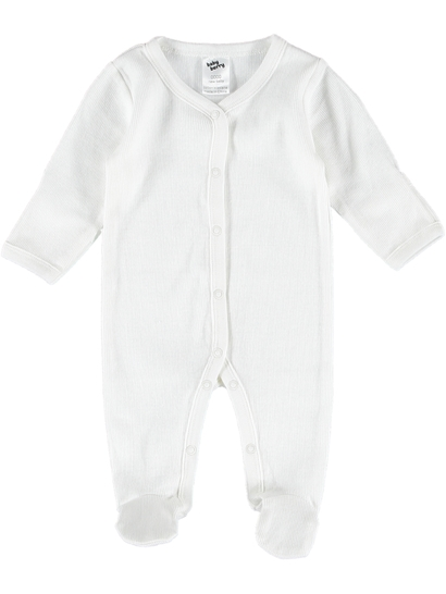 Baby Long Sleeve Rib Romper
