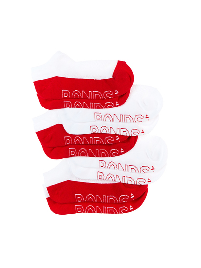 BONDS 4 PACK SOCKS WITH BONUS PAIR