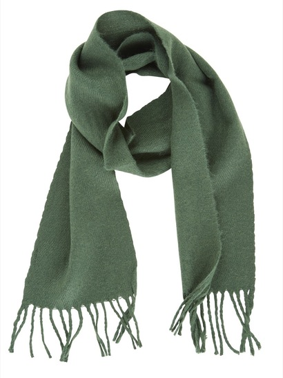 BOTTLE GREEN KIDS SCARF