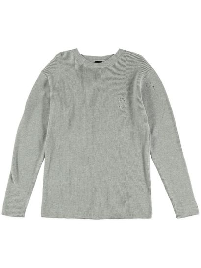 Boys Distressed Knitwear Sweater