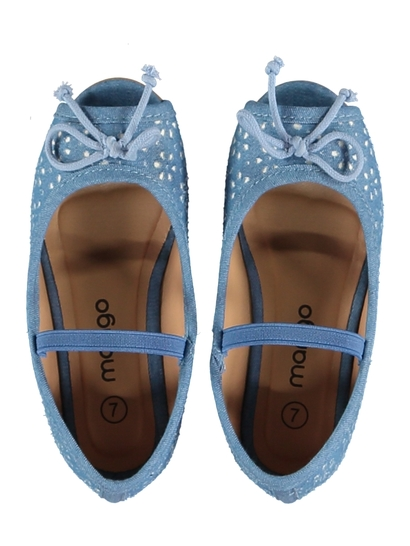 Toddler Girl Peep Toe Ballet