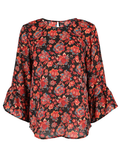 Bell Sleeve Top Womens