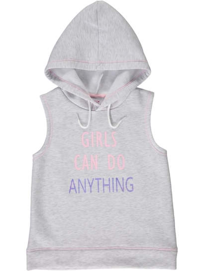 Girls Sleeveless Hoody
