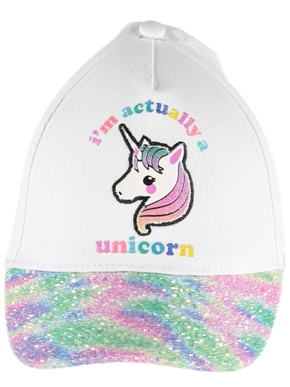 Girls Unicorn Cap