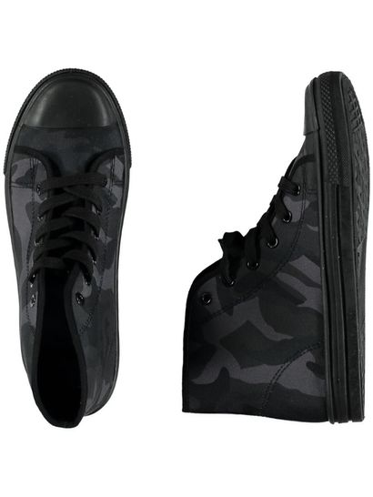 Boys Camo High Top