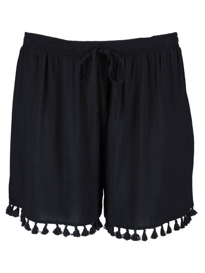 Womens Tassel Trim Short