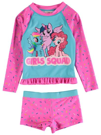 Toddler Girls Mlp Swimset