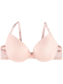 Womens Basic Lace T-Shirt Bra