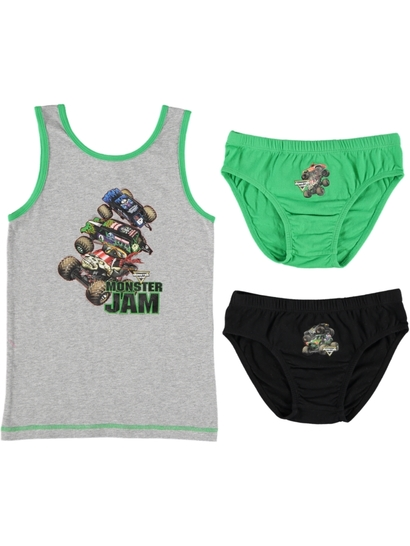 Boys Licence Underwear Pack - Monster Jam