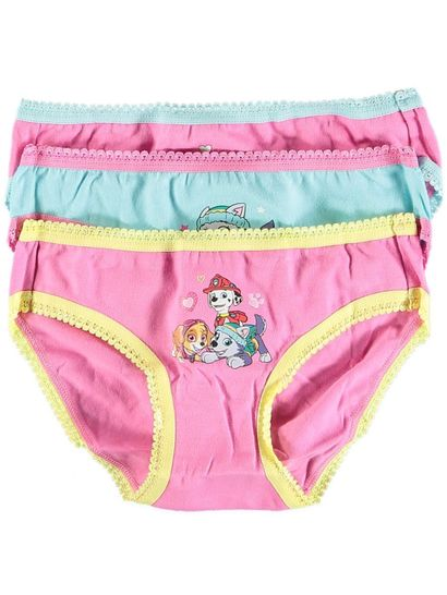 Girls 3 Pack Paw Patrol Brief