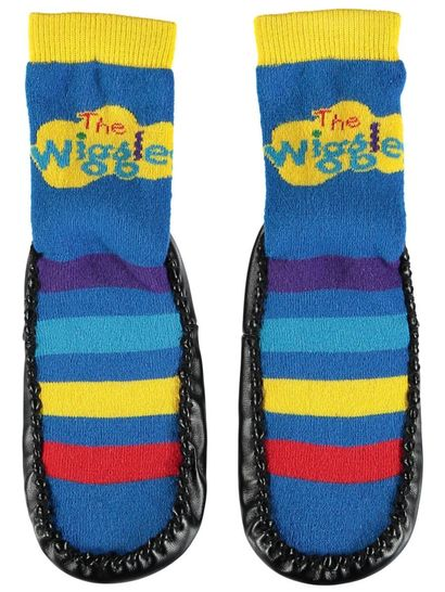 Boys Wiggles Moccasin Sock