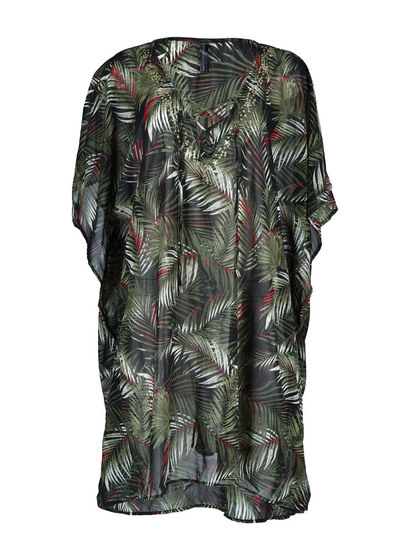 Womens Plus Sheer Cover Up