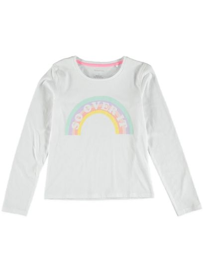 Girls Ls Print T Shirt