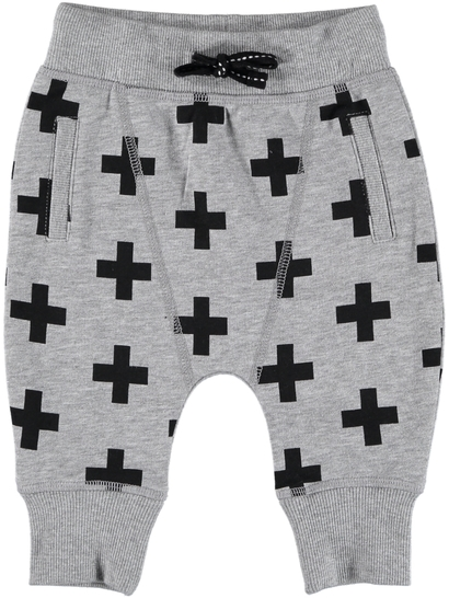 Baby Fleece Print Track Pants