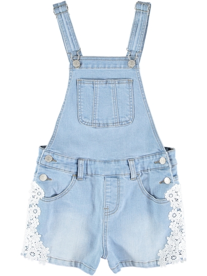 3924521db93e Girls Denim Shortall