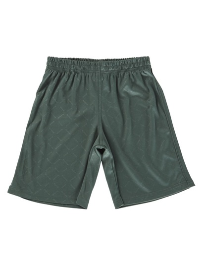BOTTLE GREEN BOYS SOCCER SHORTS