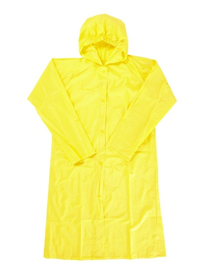 YELLOW KIDS RAINCOAT