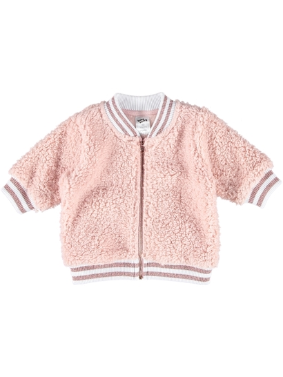 BABY FLUFFY BOMBER JACKET