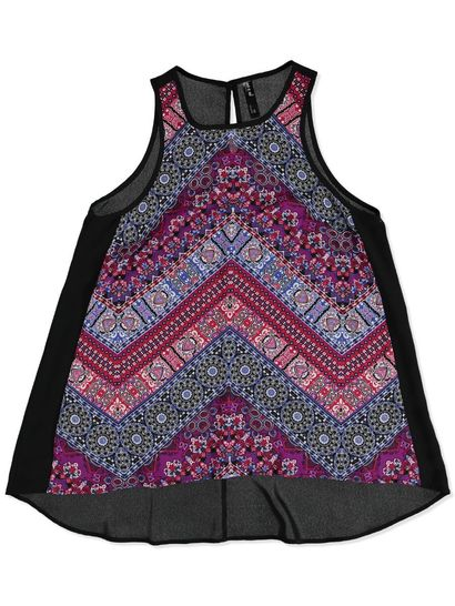 WR PRINT TUNIC ABSTRACT WOMENS