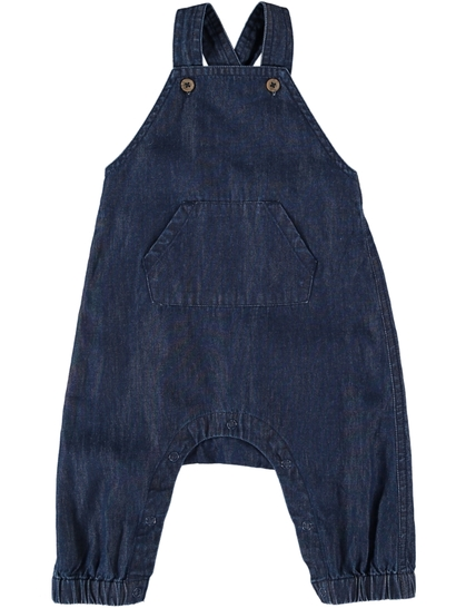 Baby Chambray Romper