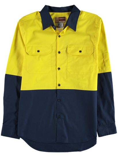 Mens Hi-Vis Workwear Shirt