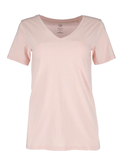 Organic Cotton V-Neck Tee Womens