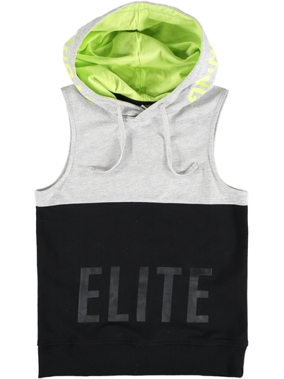 Boys Elite Sleeveless Hoodie
