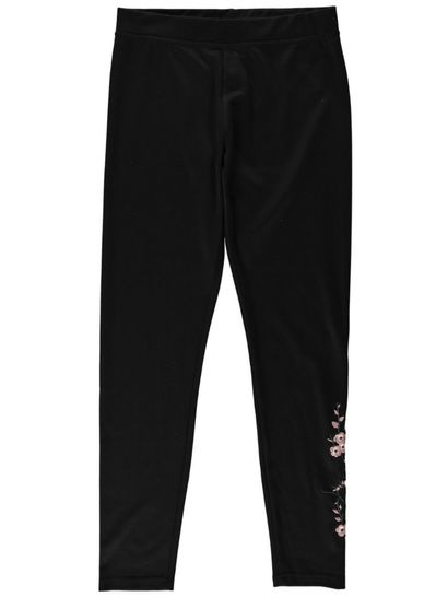 Womens Embroidered Legging