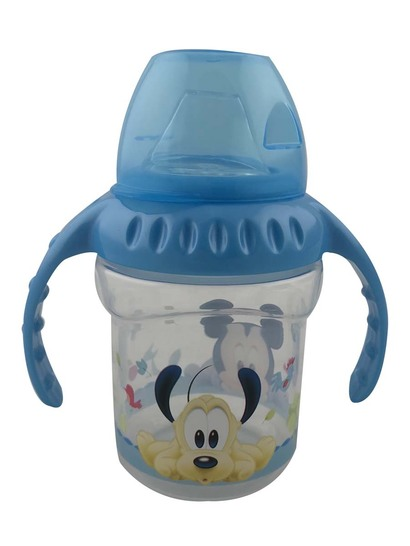Mickey Mouse Silicone Sipper 230Ml
