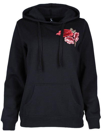 Fashion Fleece Pullover Hoodie Womens