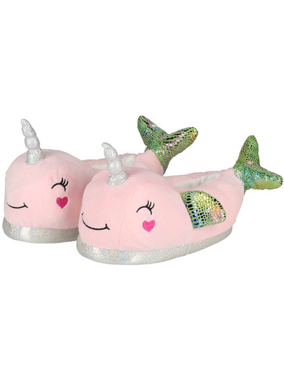 Girl Whale Unicorn Slipper