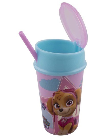 Girls Paw Patrol Sip And Snack