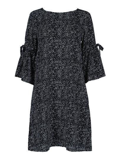 Womens Tie Sleeve Dress