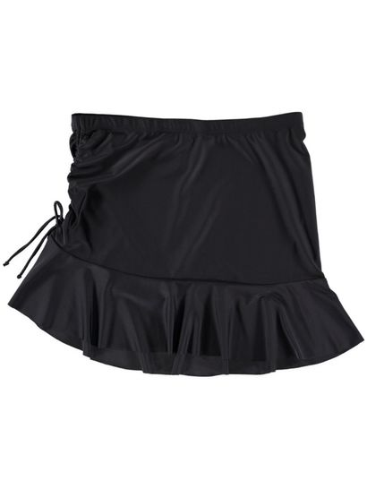 Womens Drawcord Skirt Cover Up
